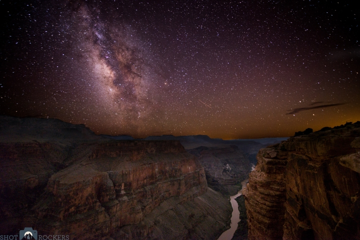 Grand Canyon Night Sky Photo by Shot Rockers